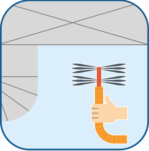 Duct Cleaning Sweeping Tool